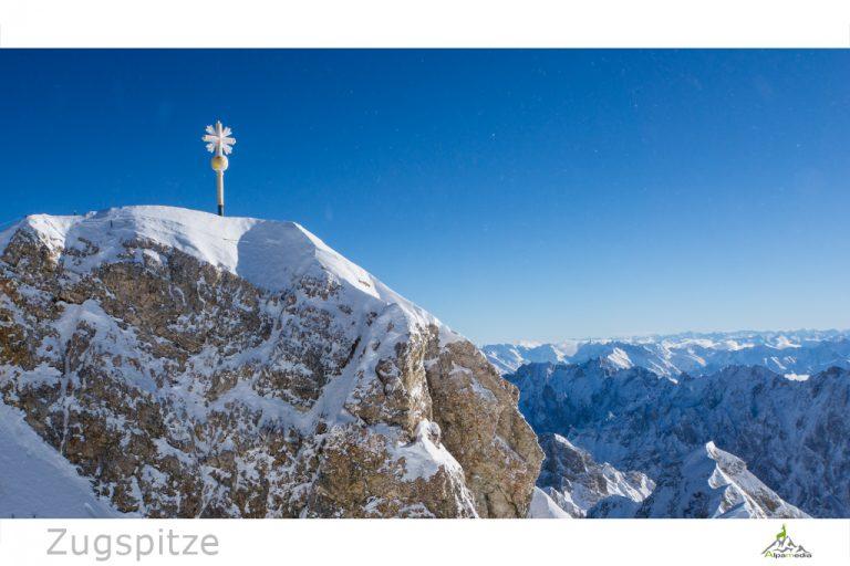 Zugspitze Gipfel bei Garmisch-Partenkirchen
