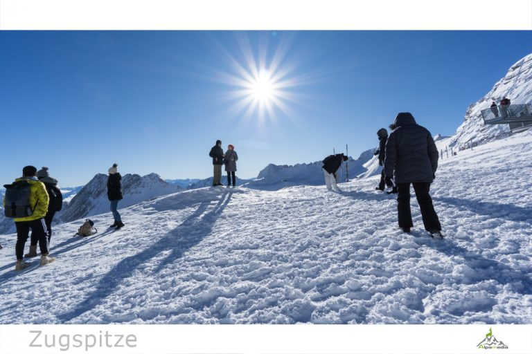 Zugspitze Skigebiet bei Garmisch-Partenkirchen