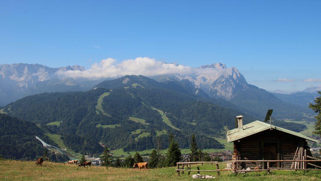 Wettersteingebirge Garmisch Partenkirchen