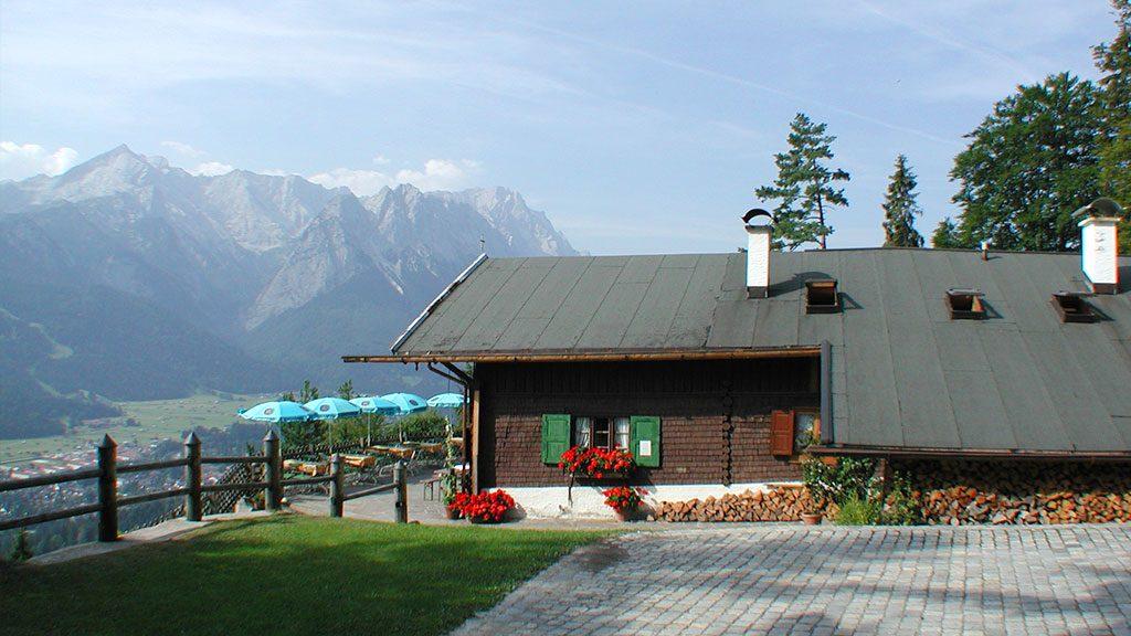 Ausflugsziel vom Ferienhaus Hofer - Martinshütte am Grasberg