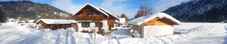 Ferienhaus Hofer- Winter im Loisachtal