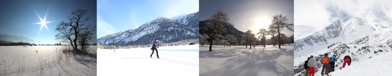 Ferienwohnungen im Zugspitzland Winter