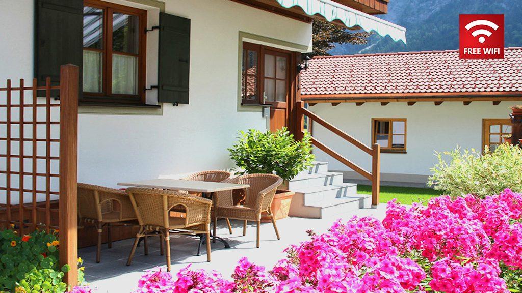 Ferienhaus Hofer im Zugspitzland - Ferienwohnung Alpspitze
