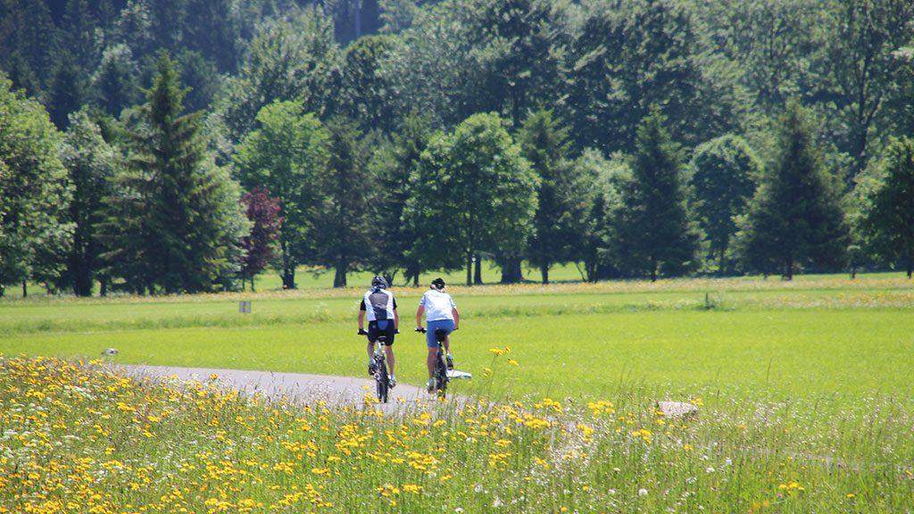 Radfahren in der Zugspitzregion