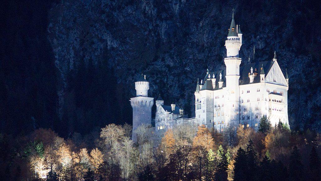 Schloss Neuschwanstein in Füssen