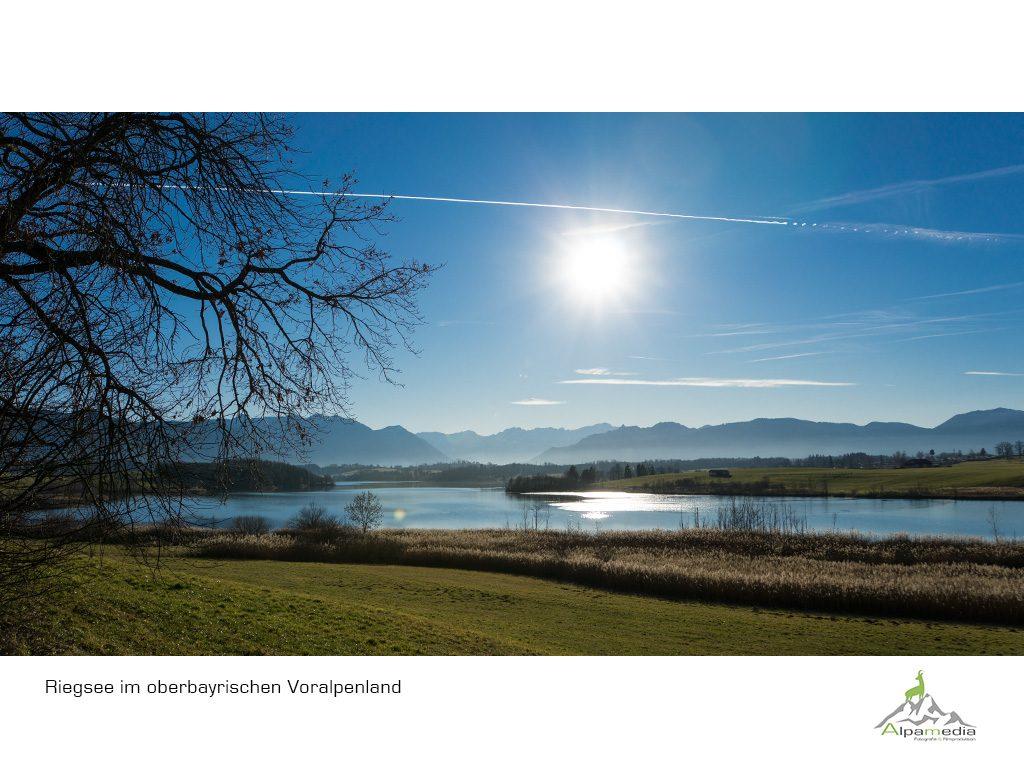 Ausflug vom Ferienhaus Hofer zum Staffelsee und Riegsee im blauen Land.