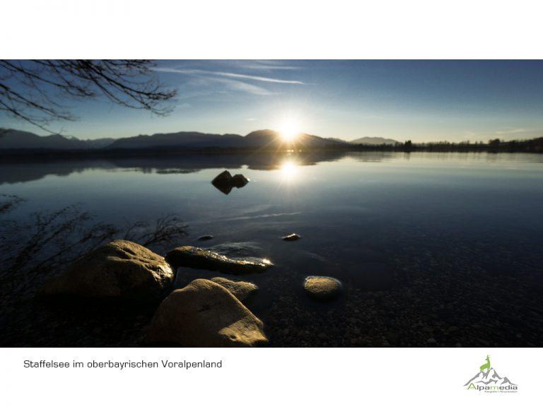 Staffelsee und Riegsee im blauen Land
